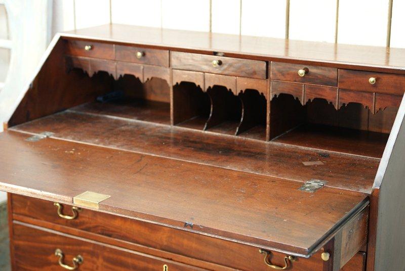 Antique Wood Secretary Desk 6. $1,976.00. Price per piece - Antique Wood Secretary Desk For Sale At Pamono