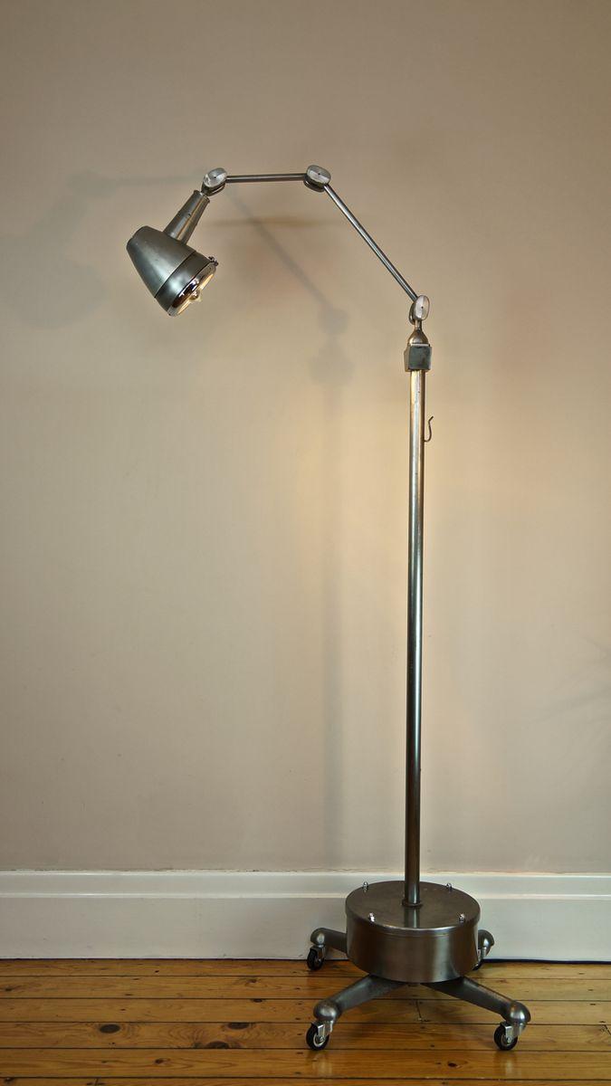 vintage industrie arzt lampe bei pamono kaufen. Black Bedroom Furniture Sets. Home Design Ideas
