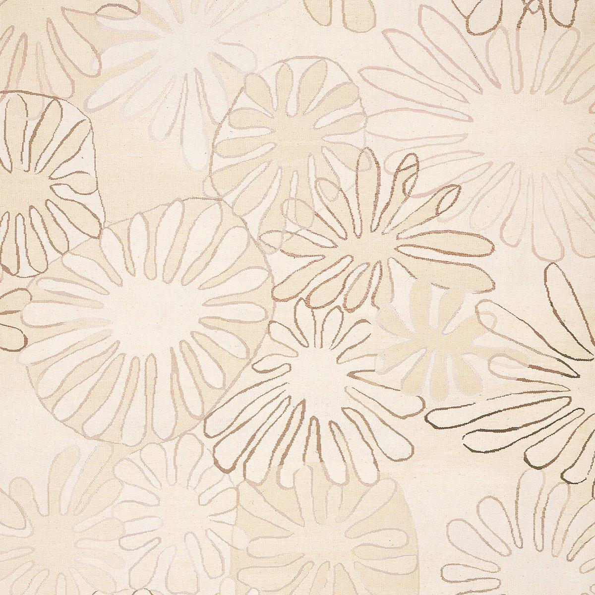 Flach Gewebter Aster Teppich von Asha Design bei Pamono kaufen