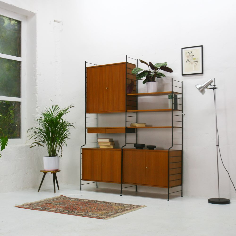 modulares vintage schrank system von whb 1960er bei pamono kaufen. Black Bedroom Furniture Sets. Home Design Ideas
