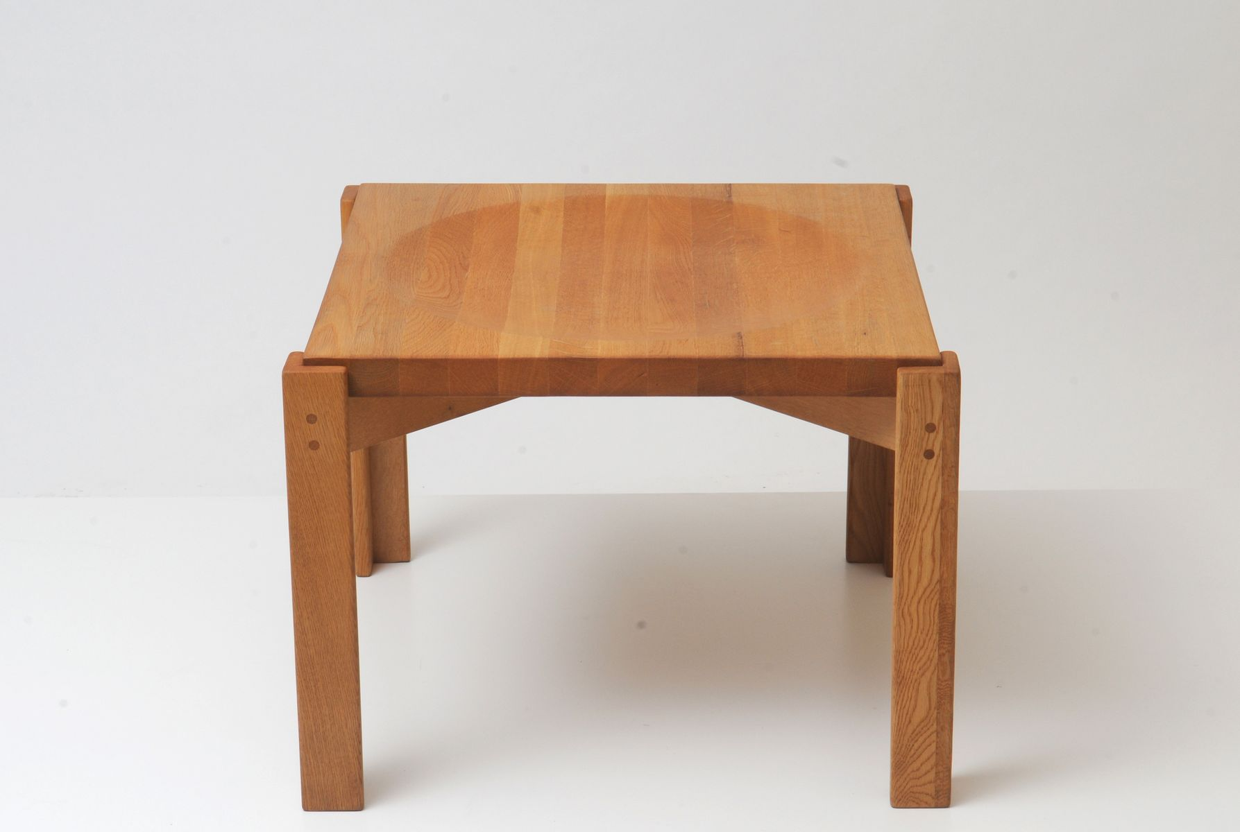 Oak Side Table By Yngve Ekström For Sale At Pamono. Full resolution  photograph, nominally Width 1787 Height 1200 pixels, photograph with #7C462A.