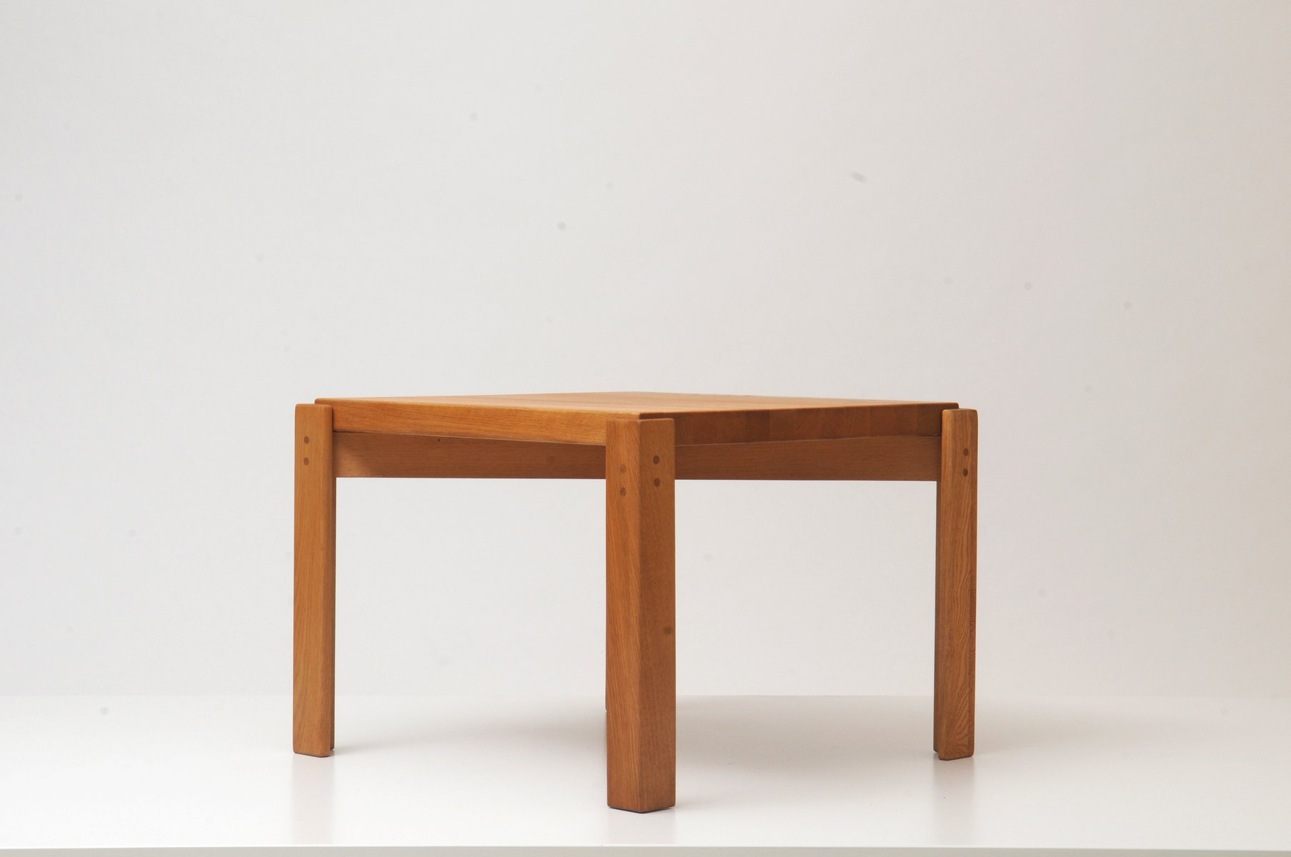 Oak Side Table By Yngve Ekström For Sale At Pamono. Full resolution‎  photograph, nominally Width 1807 Height 1200 pixels, photograph with #9D5D2E.