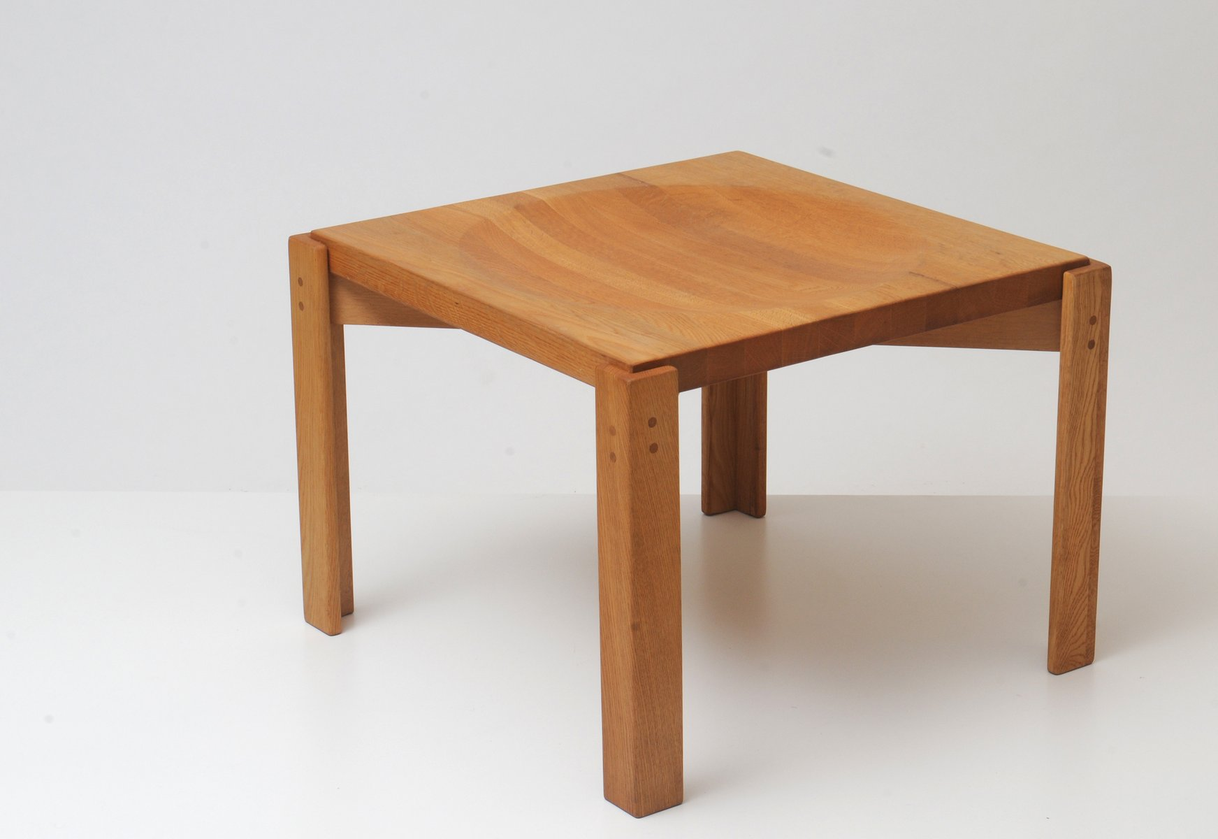 Oak Side Table By Yngve Ekström For Sale At Pamono. Full resolution‎  photograph, nominally Width 1744 Height 1200 pixels, photograph with #4C2A18.