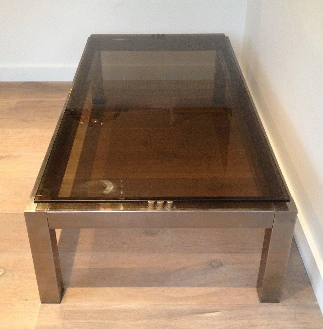 Grande table de salon en verre - Verre pour table basse ...
