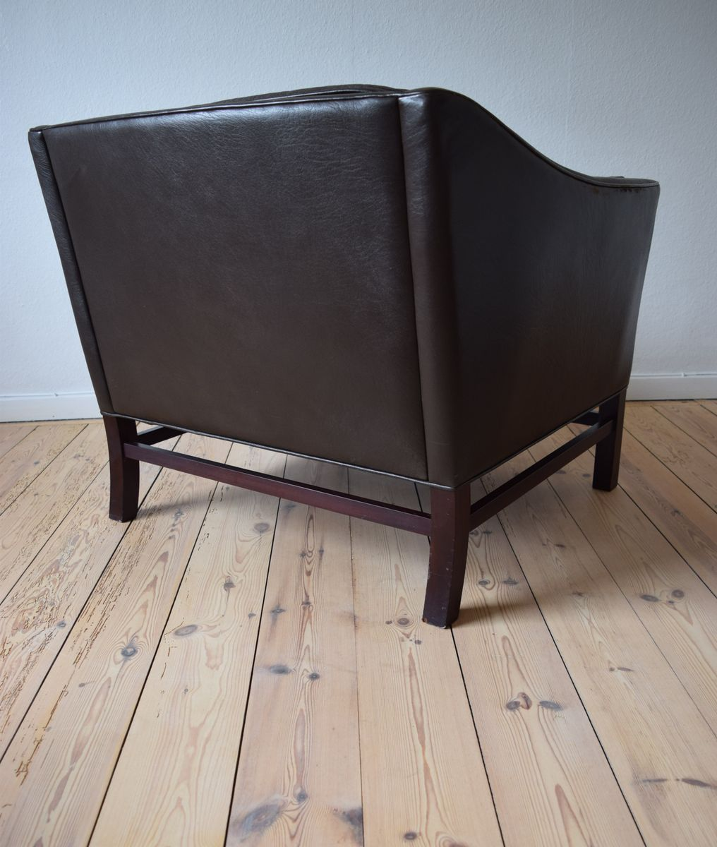 d nischer vintage lounge sessel von george thams f r grant m belfabrik bei pamono kaufen. Black Bedroom Furniture Sets. Home Design Ideas