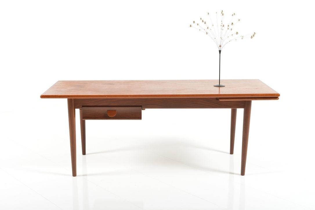 Scandinavian midcentury danish sofa table in teak 1960s for 10 inch sofa table