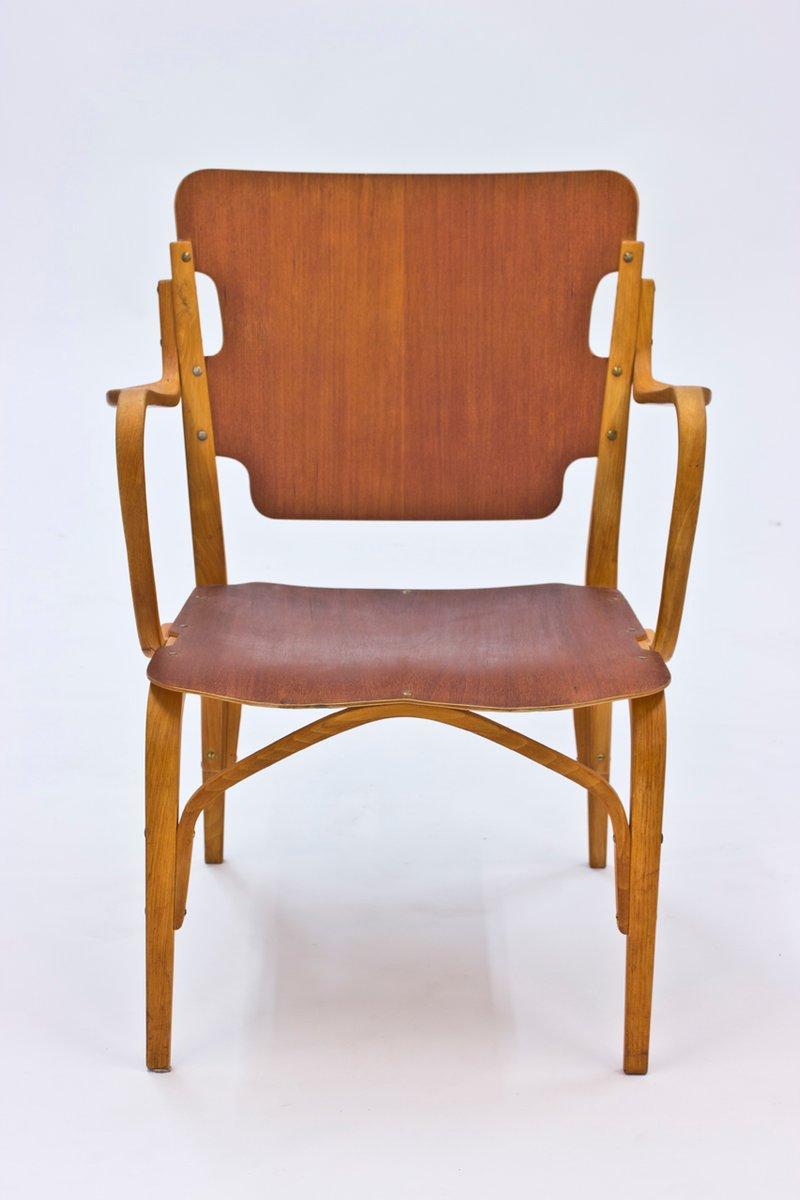 Bugholz stuhl von carl axel acking f r bodafor 1944 bei for Stuhl design geschichte