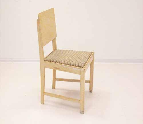 kleiner vintage bauhaus tisch und st hle 3er set bei. Black Bedroom Furniture Sets. Home Design Ideas