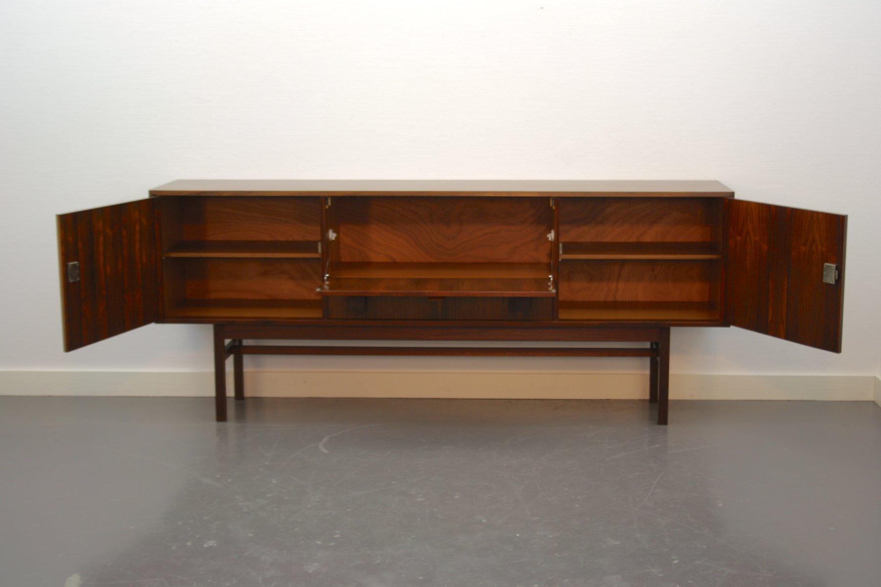 palisander sideboard aus holland 1960er bei pamono kaufen. Black Bedroom Furniture Sets. Home Design Ideas