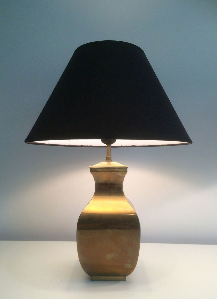 Post Modern Brass Table Lamps Set Of 2 For Sale At Pamono