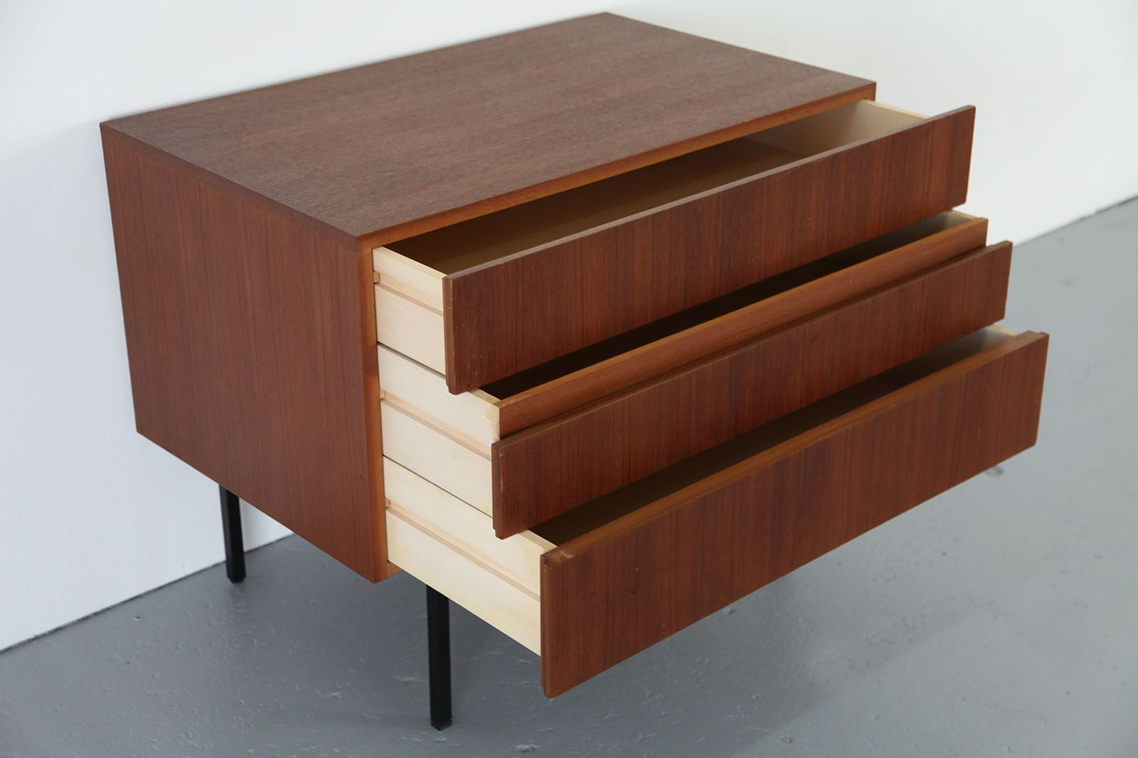 Teak Chest by Dieter Waeckerlin for Behr Furniture for