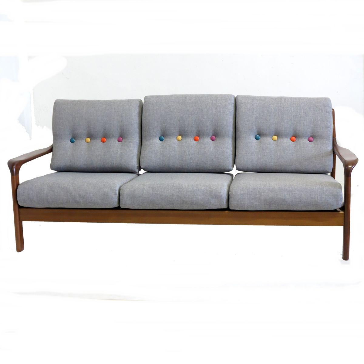 Deutsches vintage dreisitzer sofa 1960er bei pamono kaufen for Sofa dreisitzer