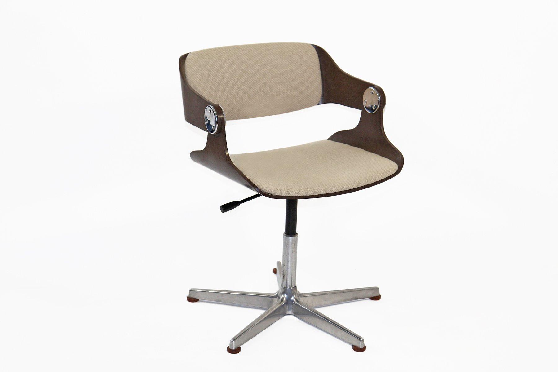 Chaise de bureau par eugen schmidt pour es darmstadt 1966 for Chaise schmidt