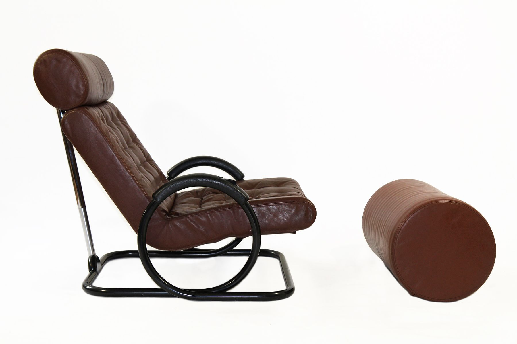 Synchro Chair and Ottoman by Prototeam for Herman Miller Co 1975