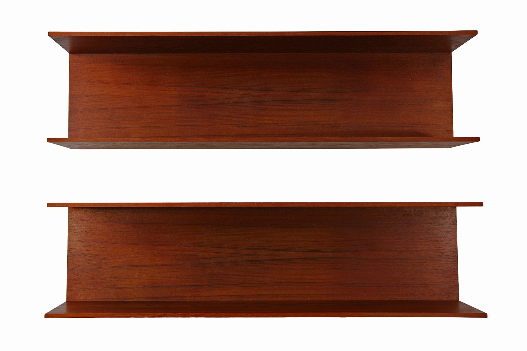 wall shelves by walter wirz for wilhelm renz set of 2 for. Black Bedroom Furniture Sets. Home Design Ideas