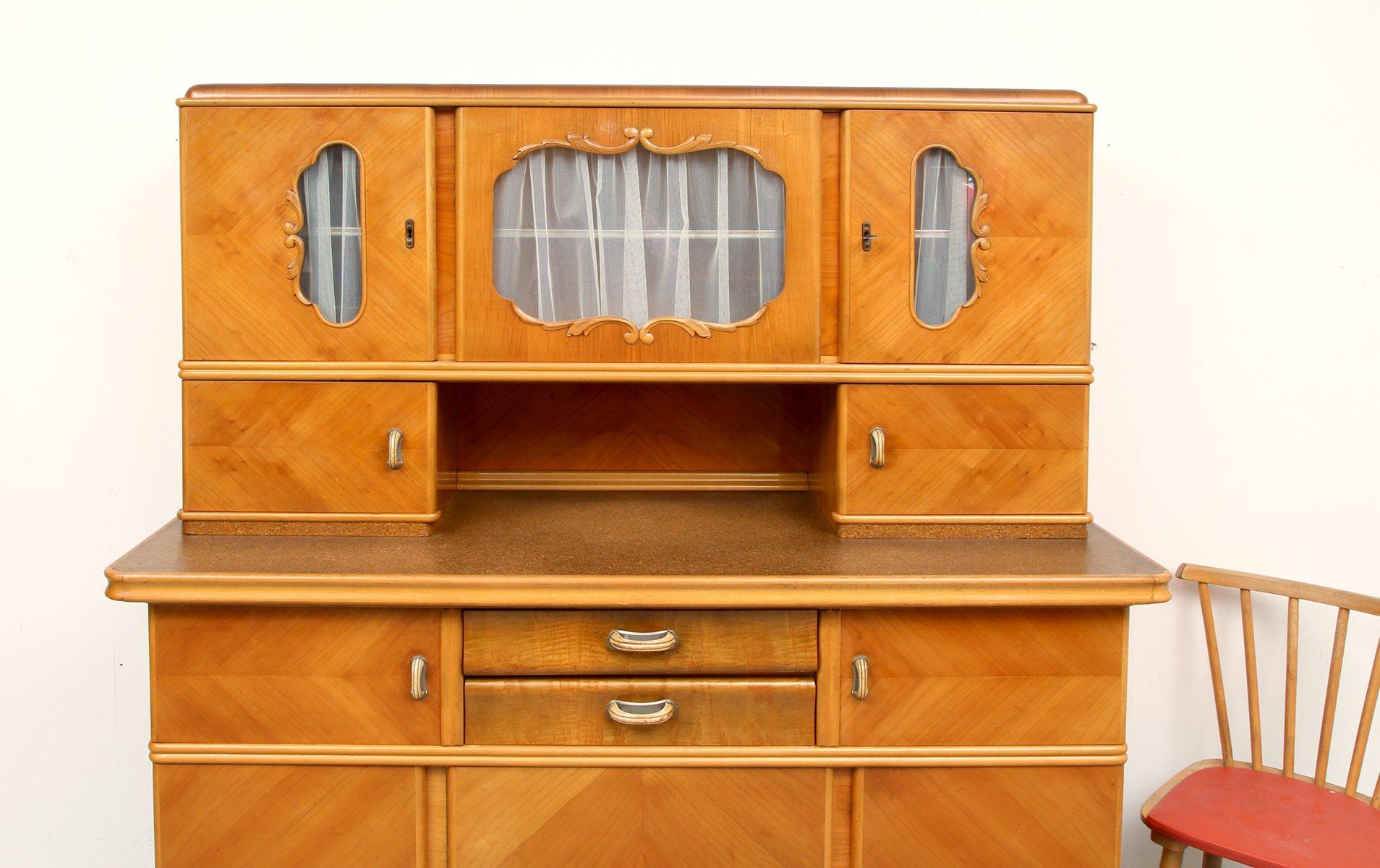 k chen buffet aus holz bei pamono kaufen. Black Bedroom Furniture Sets. Home Design Ideas