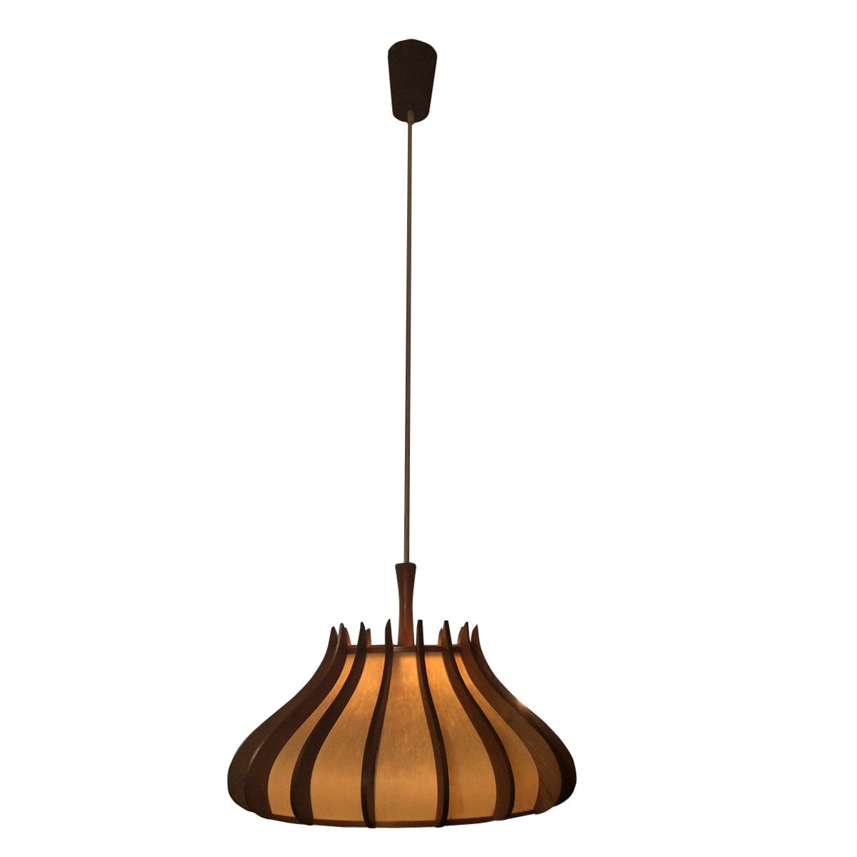 Mid century danish ceiling lamp for sale at pamono for Mid century ceiling lamp