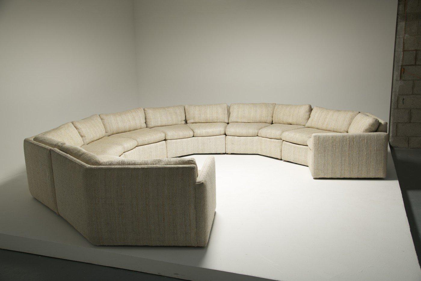 vintage tweed sectional sofa for sale at pamono. Black Bedroom Furniture Sets. Home Design Ideas