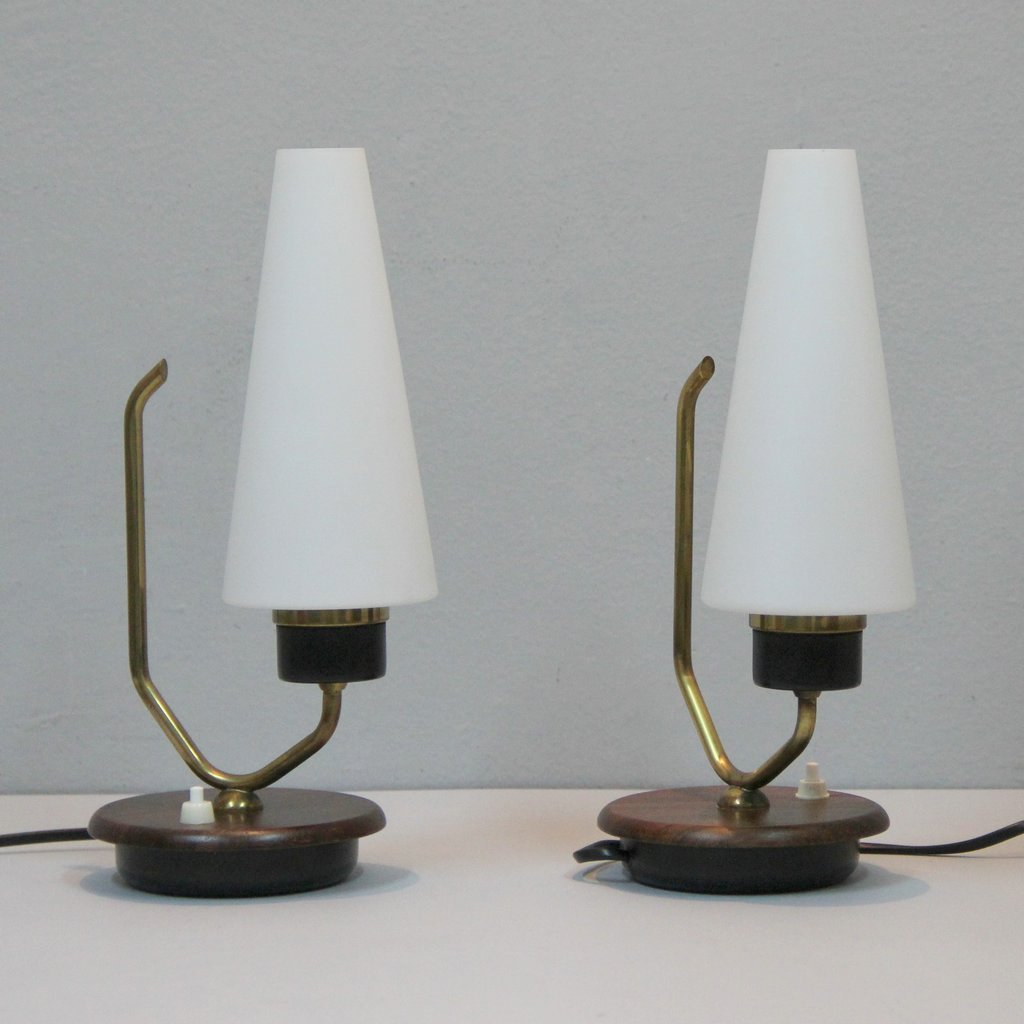 Danish table lamps set of 2 for sale at pamono 36000 geotapseo Images