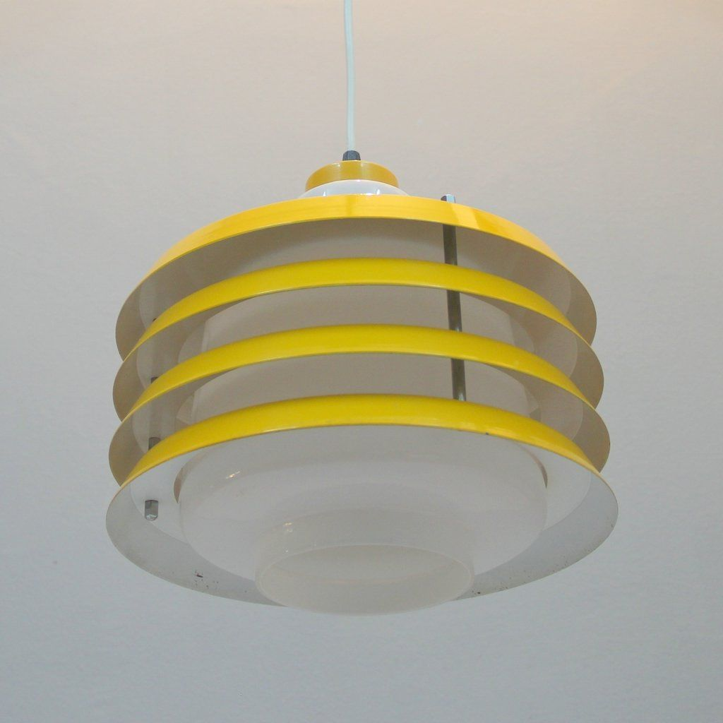 Ceiling Lights Yellow : Yellow danish ceiling light for sale at pamono