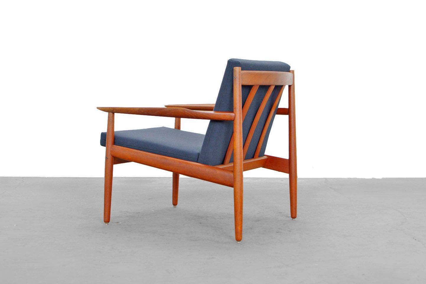 teak easy chair by arne vodder for glostrup for sale at pamono. Black Bedroom Furniture Sets. Home Design Ideas