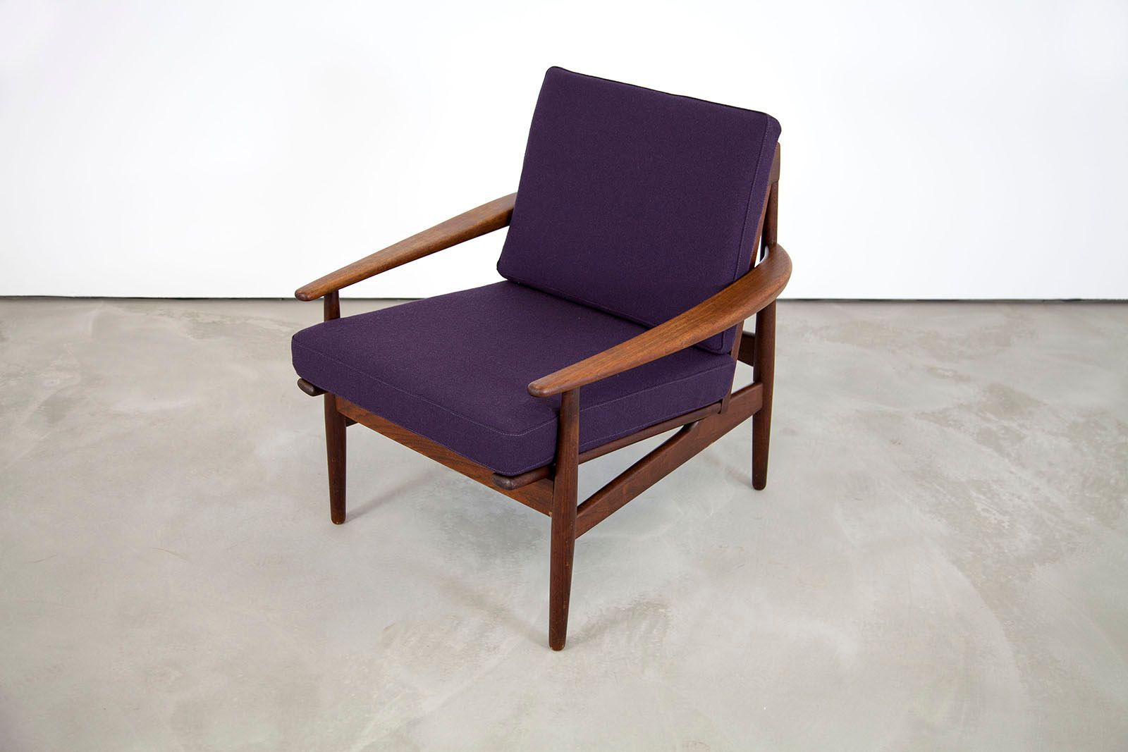 danish modern teak armchair by grete jalk for glostrup for sale at
