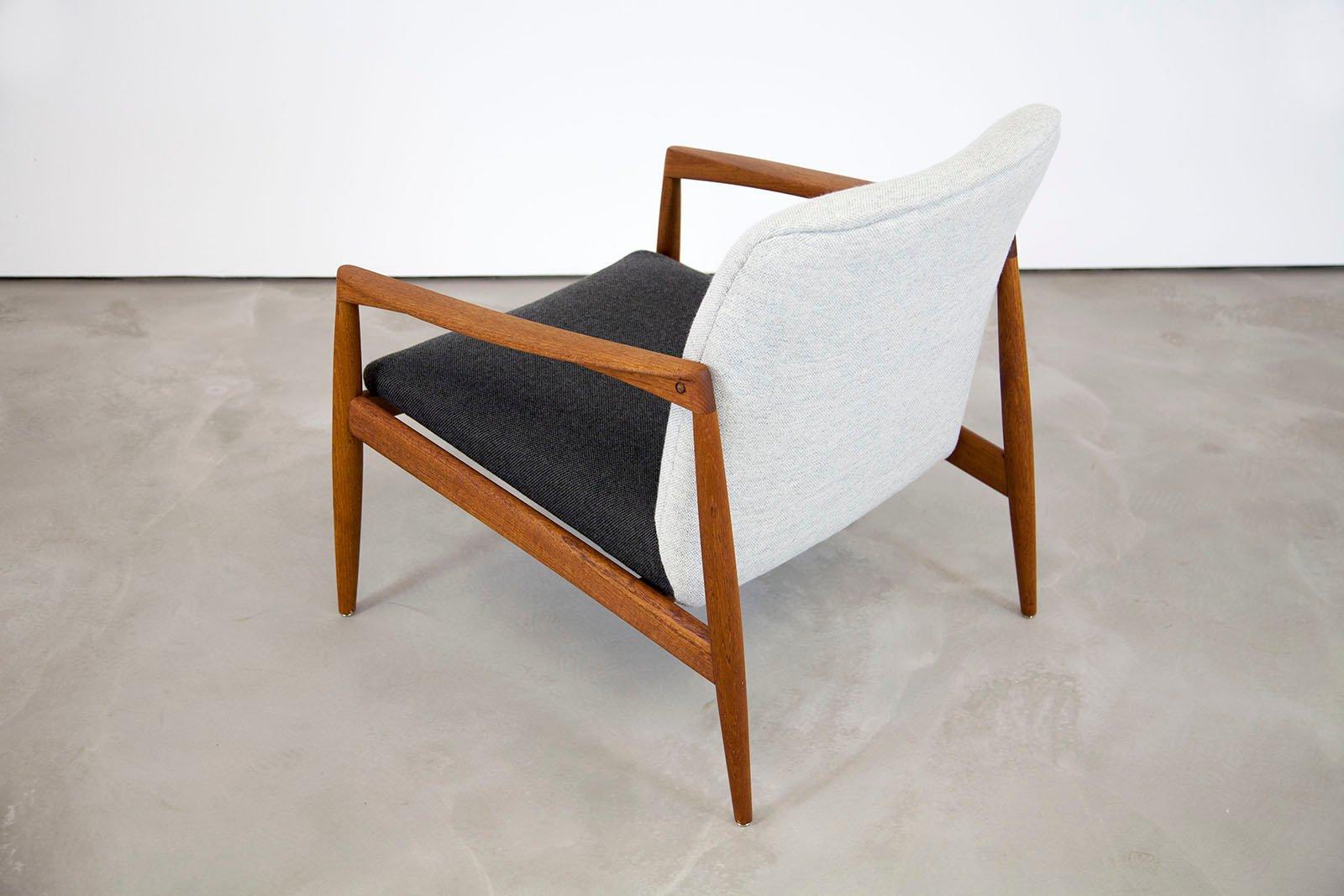 danish teak armchair by kai kristiansen for magnus olesen for sale at