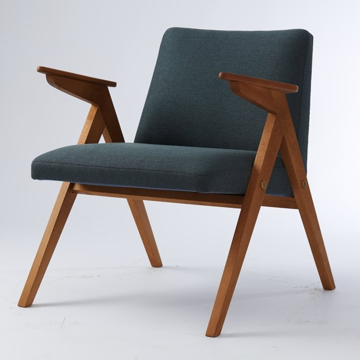 fauteuil vintage bleu gris 1 Résultat Supérieur 46 Incroyable Fauteuil Bleu Gris Image 2017 Kae2