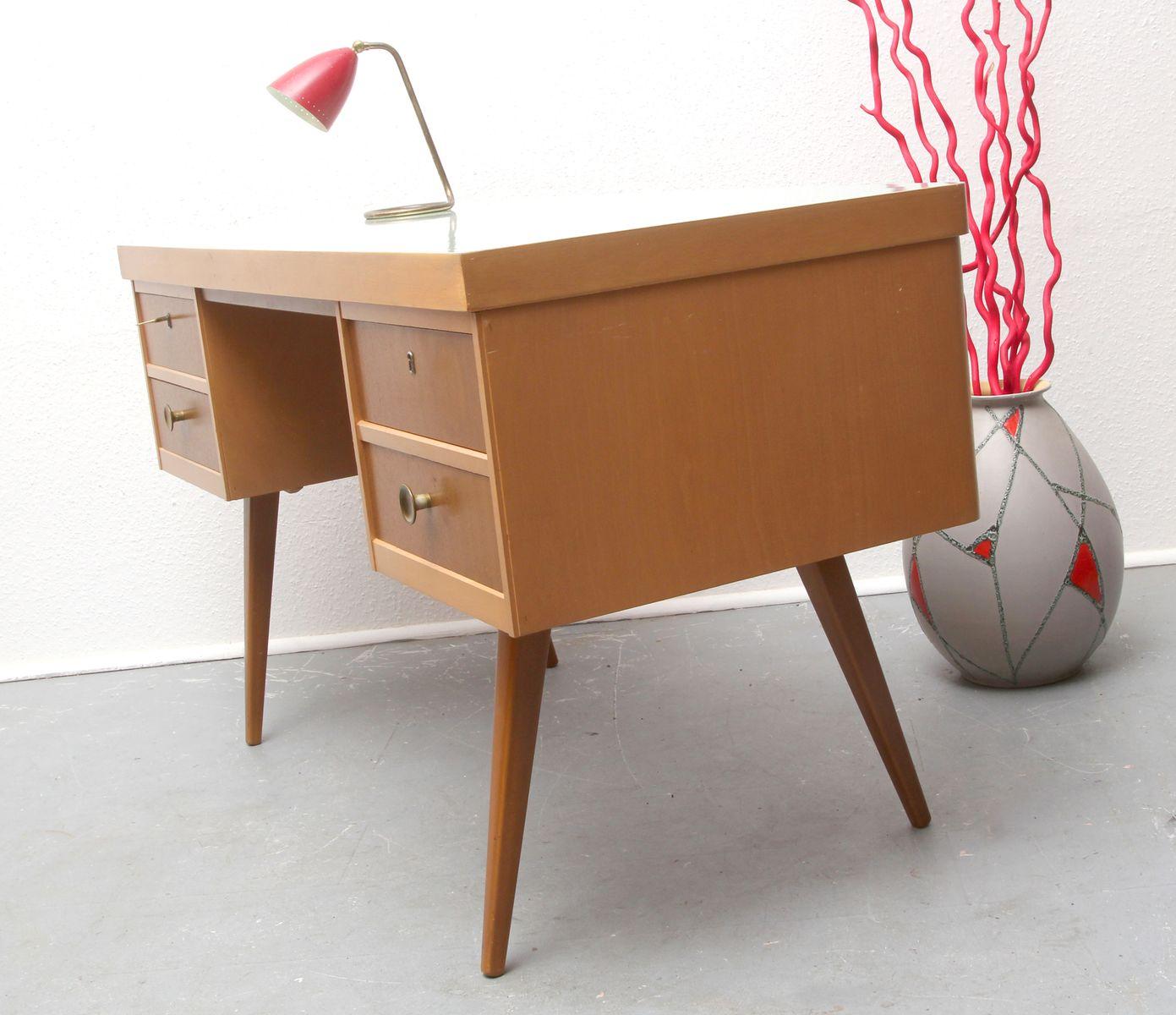 vintage resopal schreibtisch von ekawerk bei pamono kaufen. Black Bedroom Furniture Sets. Home Design Ideas