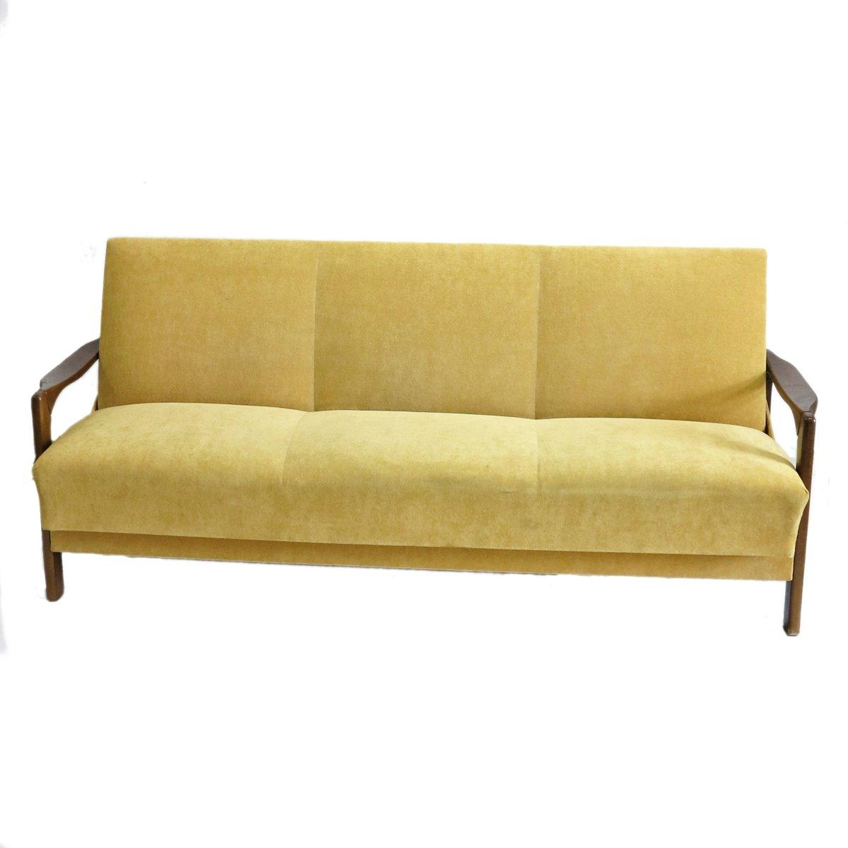 Gelbes Vintage Sofa Bei Pamono Kaufen