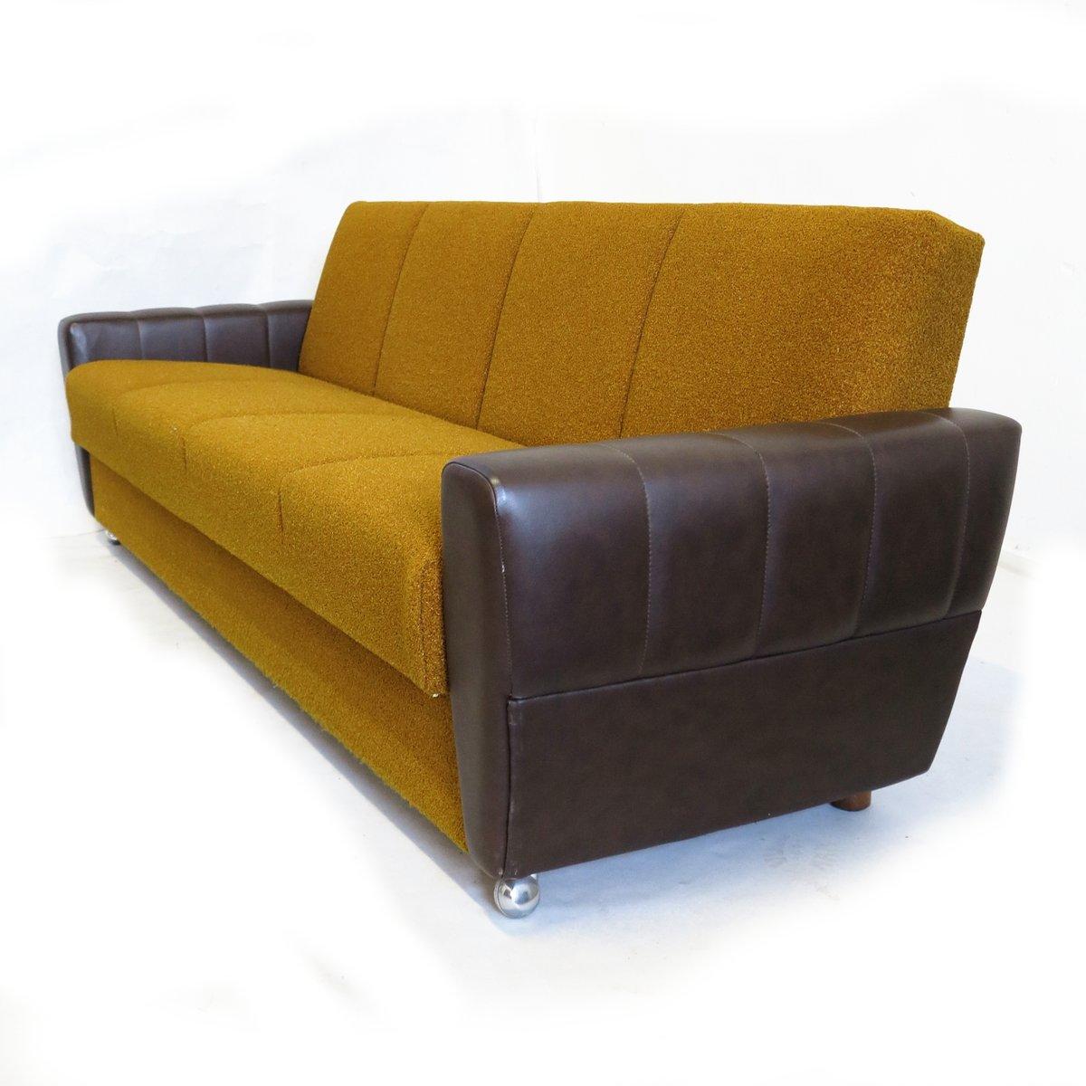 vintage schlafsofa aus deutschland bei pamono kaufen. Black Bedroom Furniture Sets. Home Design Ideas