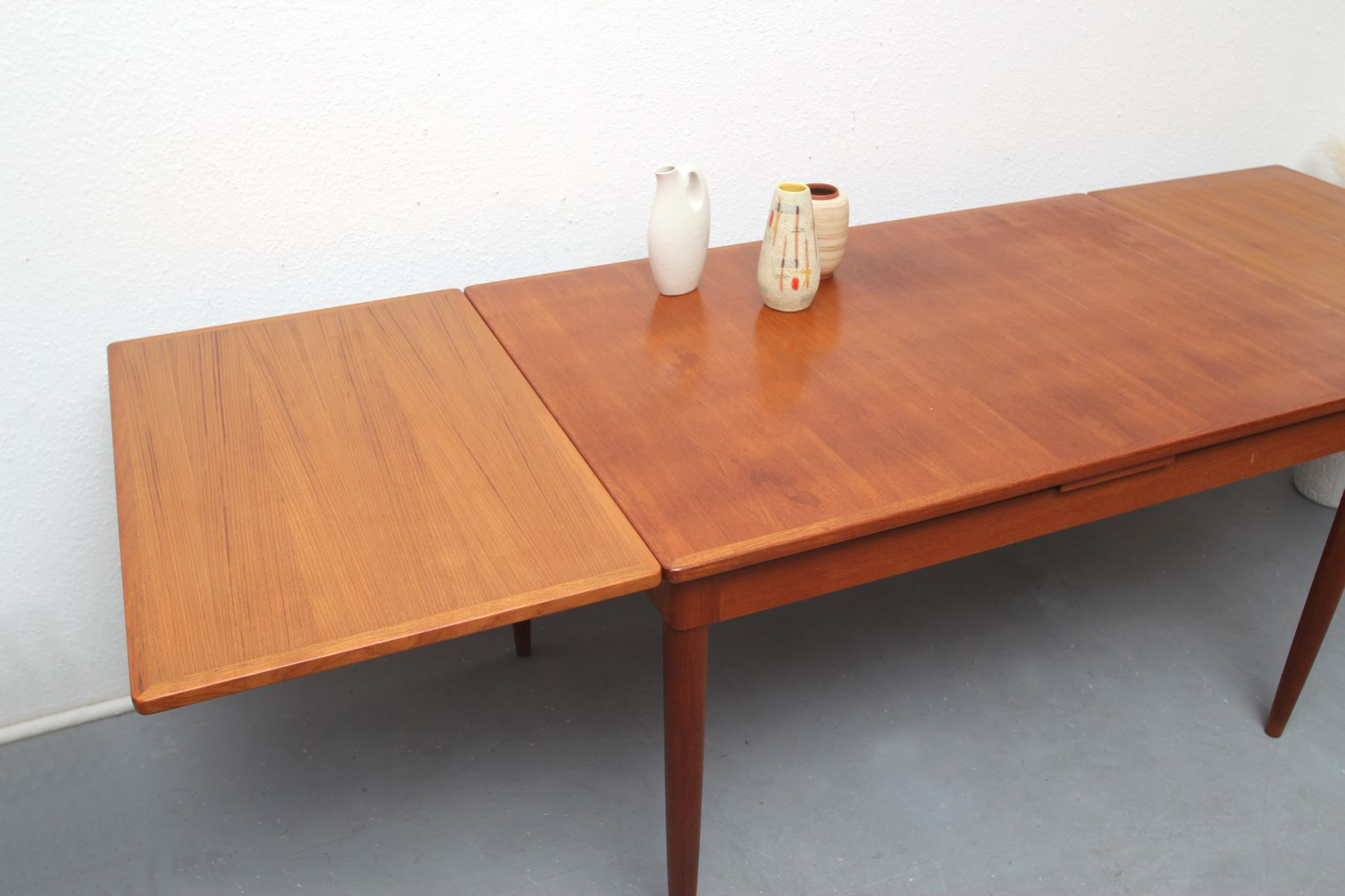 no 135 teak dining table by m 246 ller for sale at pamono