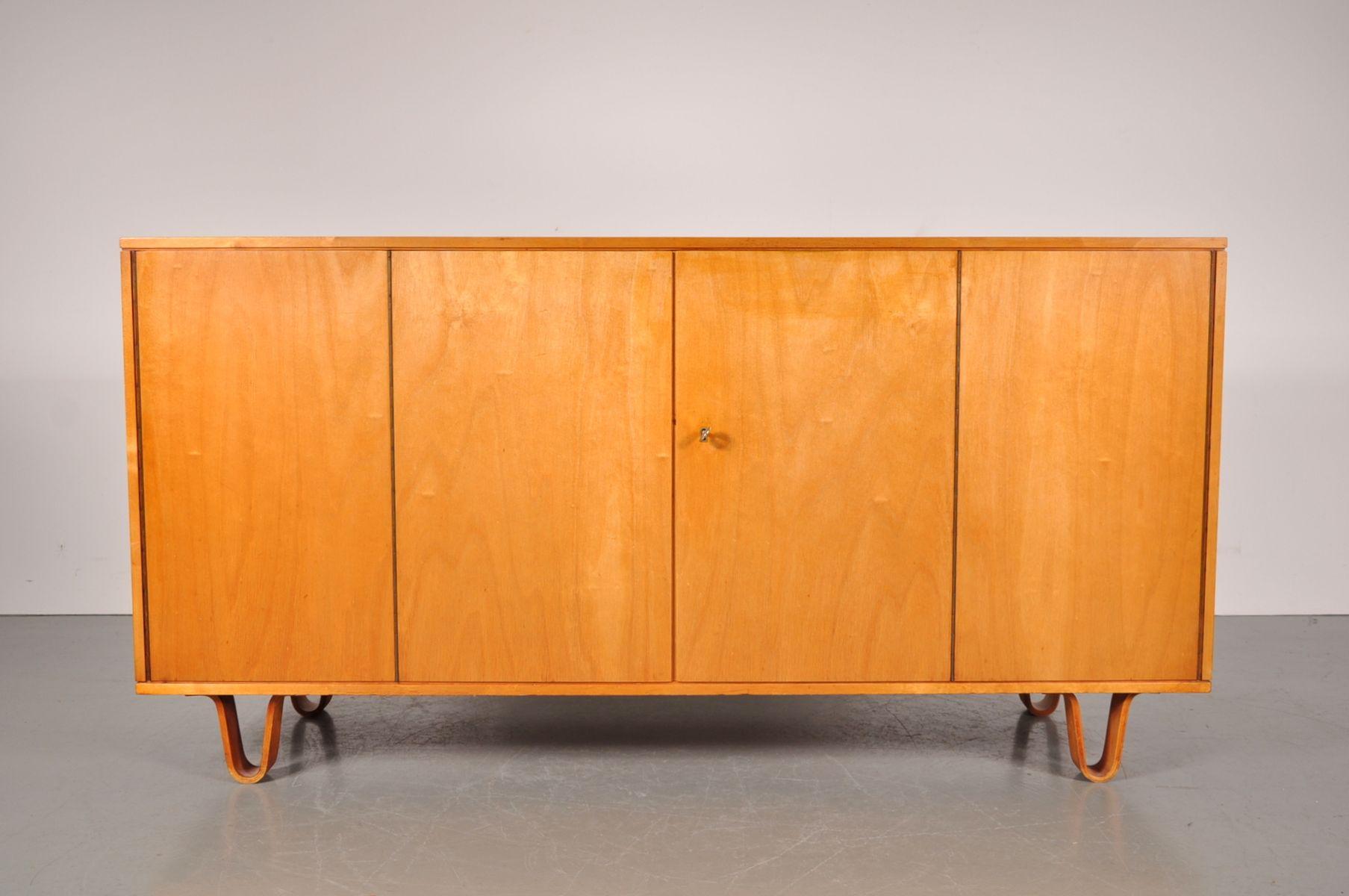 Model db mid century birch sideboard on plywood legs