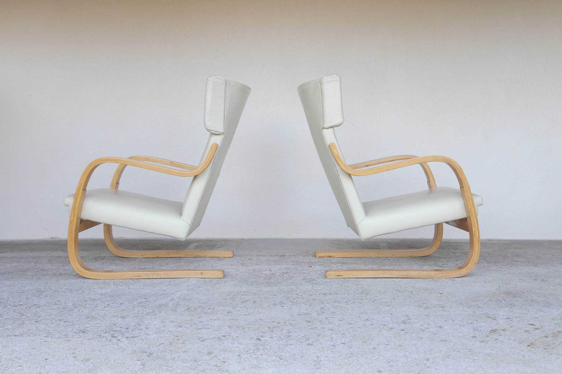 alvar aalto furniture. contemporary alvar model 401 chairs by alvar aalto 1935 set of 2 on aalto furniture
