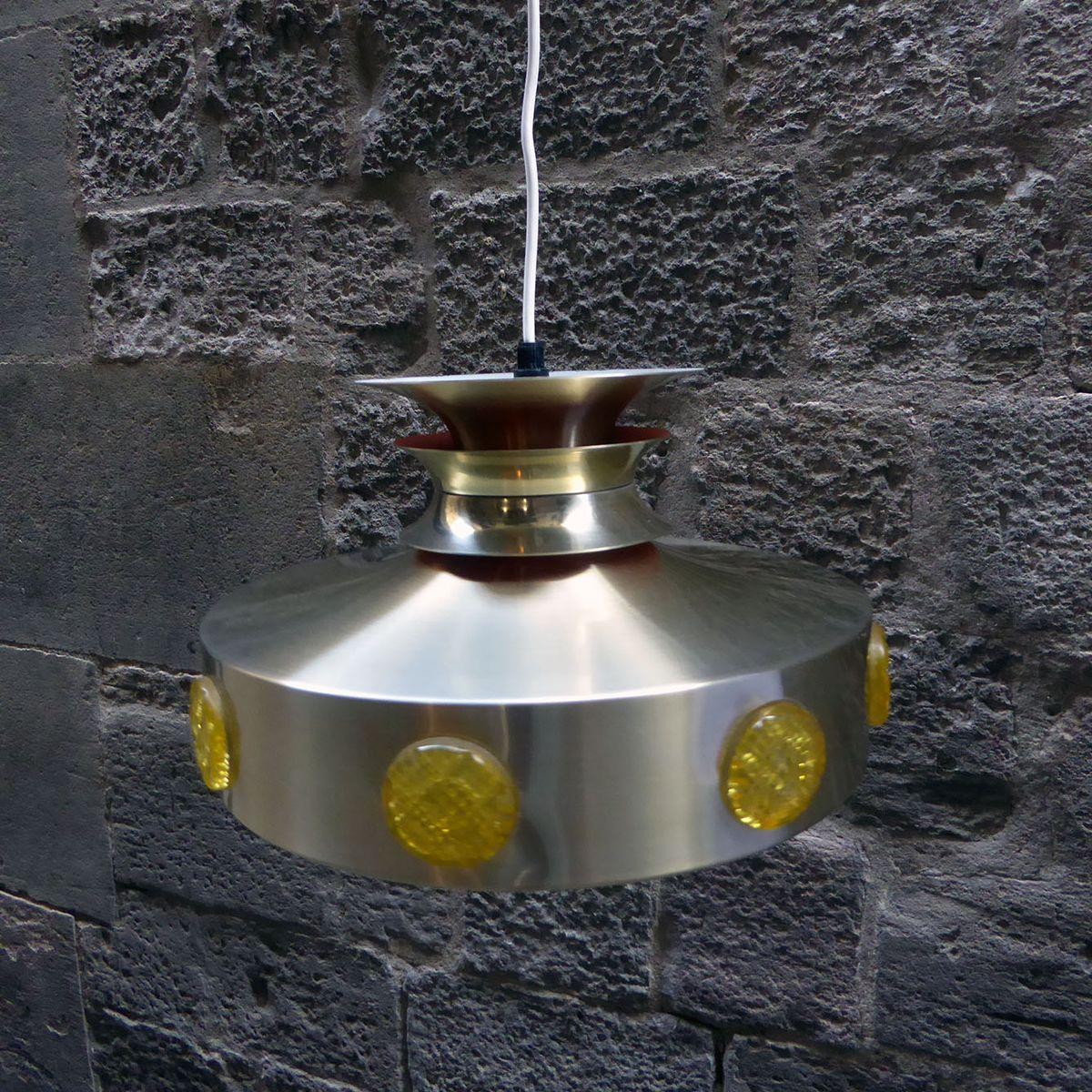 D nische messing deckenlampe bei pamono kaufen for Deckenlampe messing
