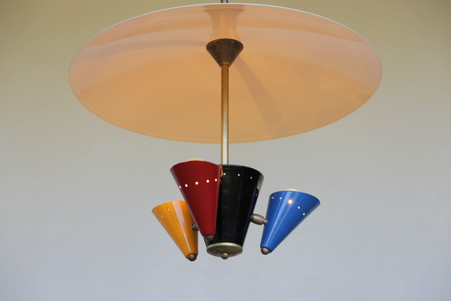 Vintage italian pendant light 1960s for sale at pamono - Italian pendant lights ...