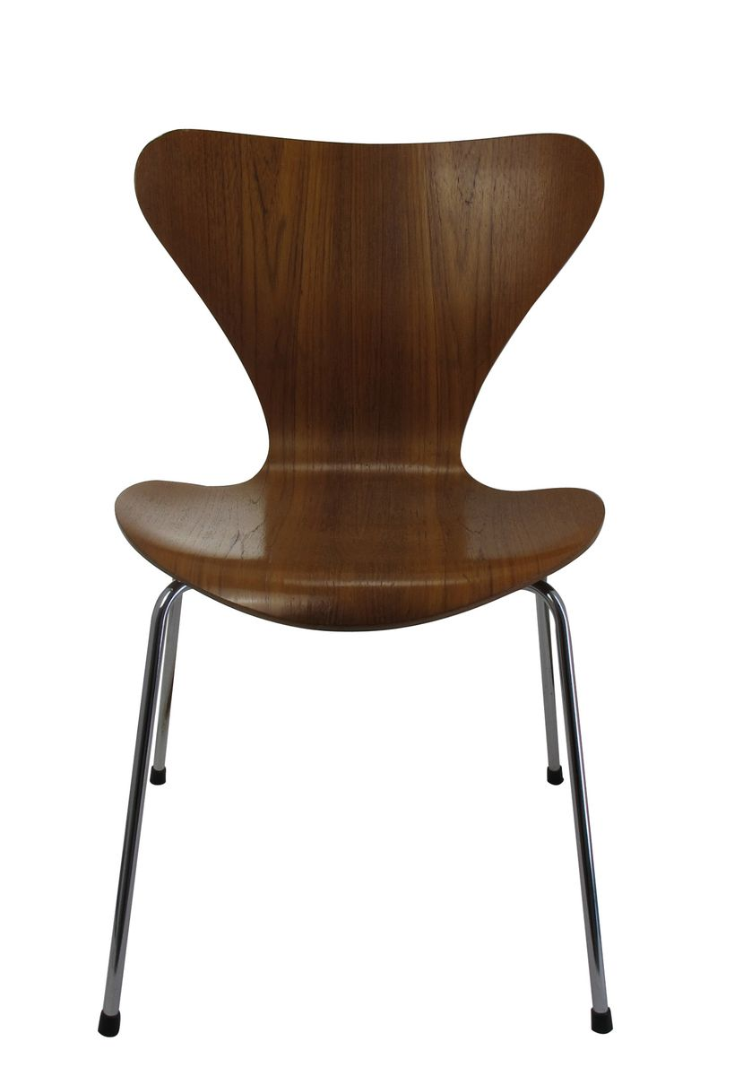 Model 3107 Chair By Arne Jacobsen For Fritz Hansen 1981