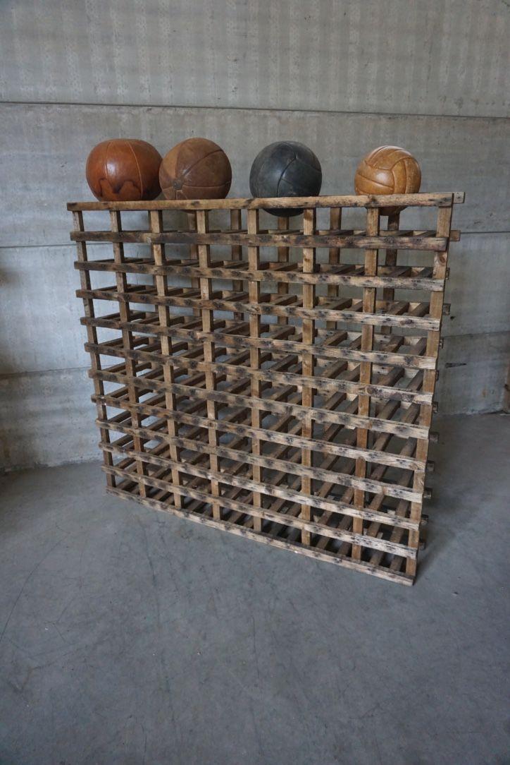 Vintage Industrial Wine Rack For Sale At Pamono