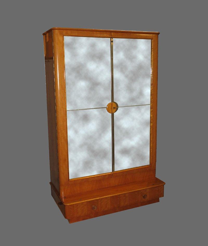 vintage spiegelschrank bei pamono kaufen. Black Bedroom Furniture Sets. Home Design Ideas