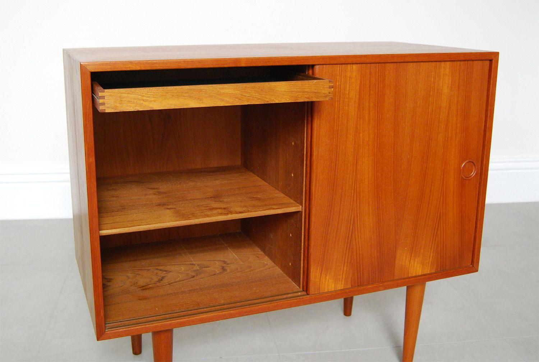 Mid Century Teak Cabinet By Kai Kristiansen 1960s For