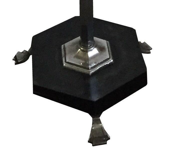 art deco stehlampe frankreich bei pamono kaufen. Black Bedroom Furniture Sets. Home Design Ideas