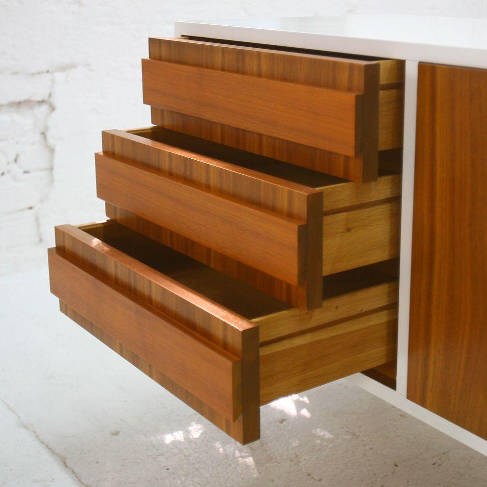 Vintage walnut sideboard for sale at pamono