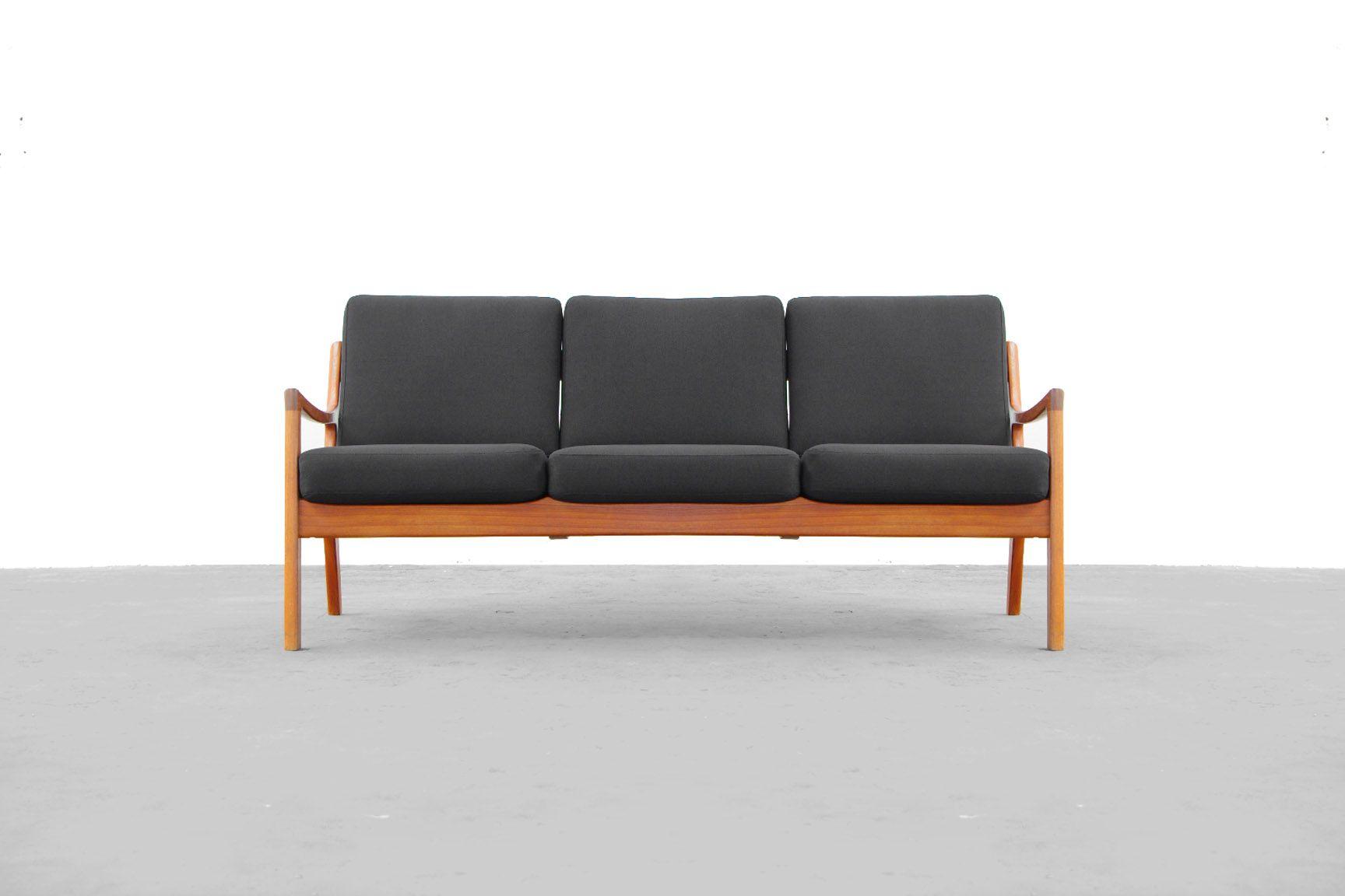 teak sofa von ole wasche f r france son 1951 bei pamono kaufen. Black Bedroom Furniture Sets. Home Design Ideas
