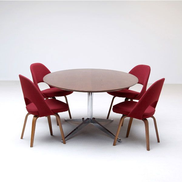 walnut dining table by florence knoll for knoll 1960s for sale at