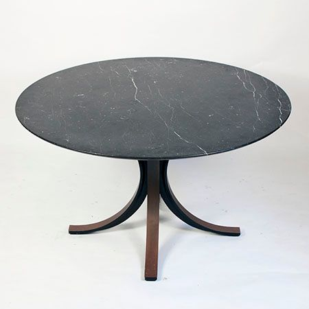 marmortisch von osvaldo borsani f r tecno bei pamono kaufen. Black Bedroom Furniture Sets. Home Design Ideas