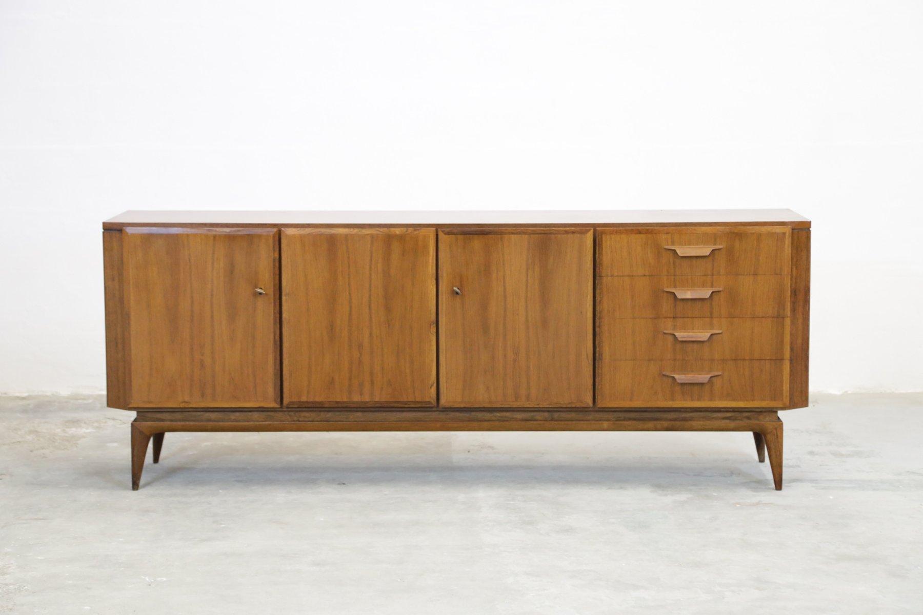 schweizer midcentury palisander sideboard 1960er bei. Black Bedroom Furniture Sets. Home Design Ideas