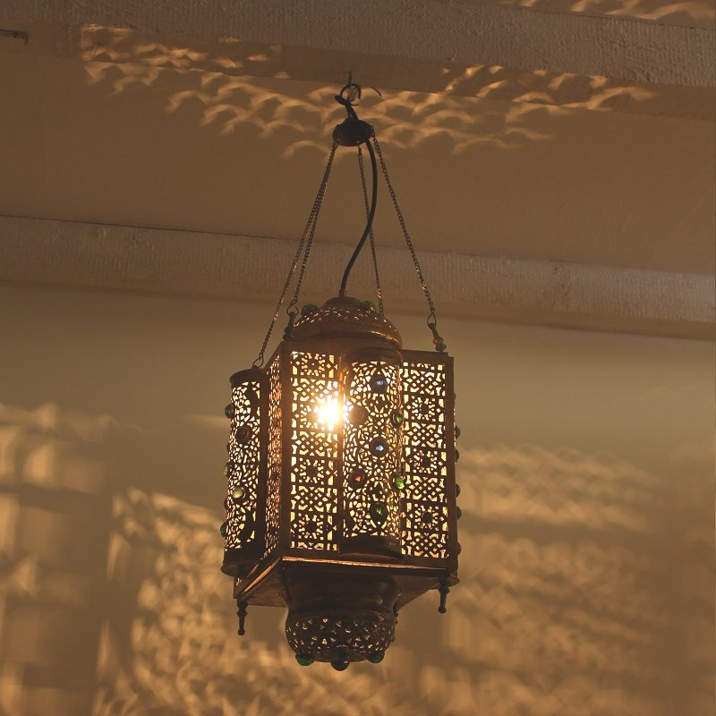 Moroccan Ceiling Light for sale at Pamono