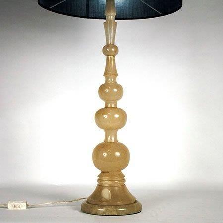 Lampada da tavolo vintage in alabastro anni 39 50 in vendita su pamono - Lampada da tavolo vintage ebay ...
