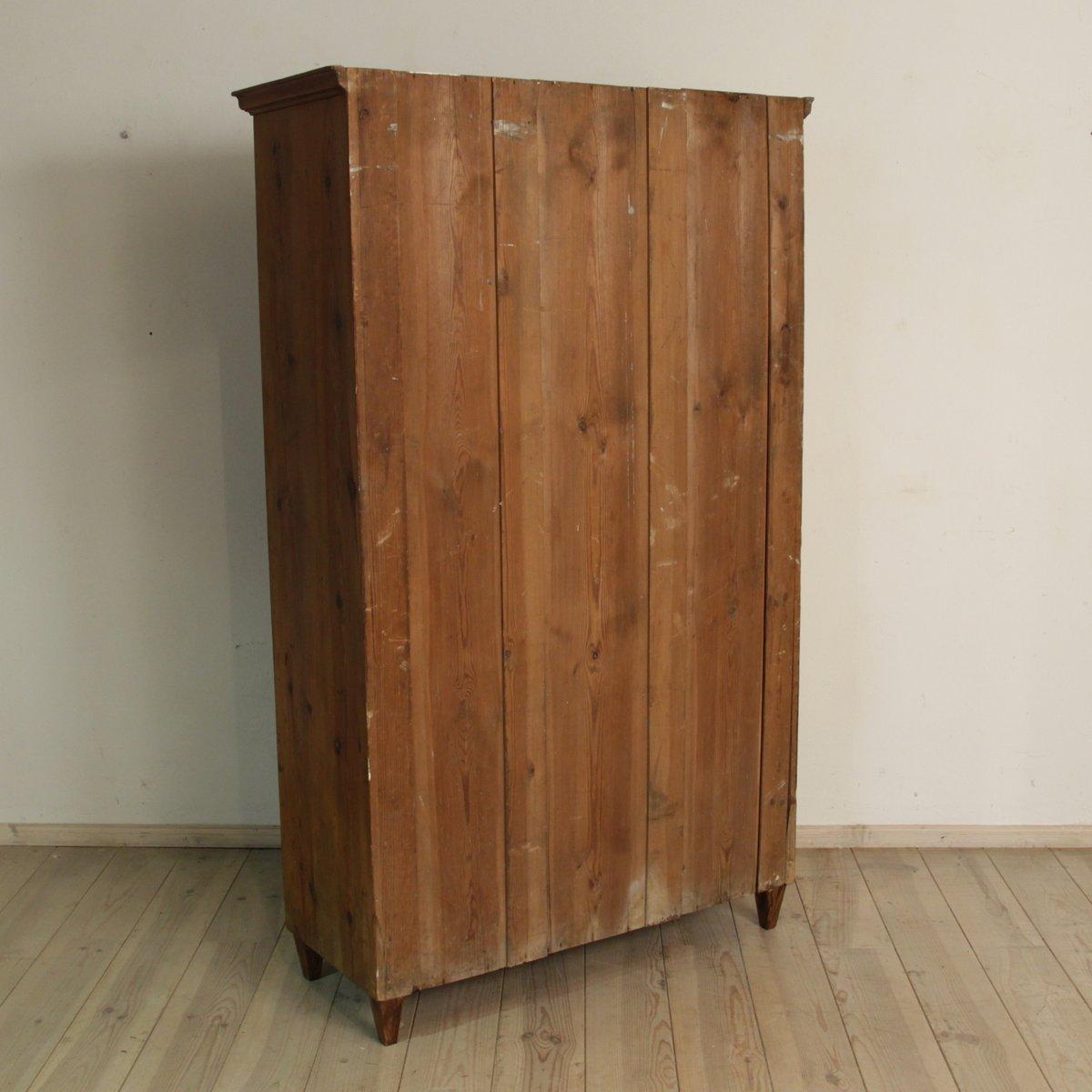 antike fichtenholz vitrine bei pamono kaufen. Black Bedroom Furniture Sets. Home Design Ideas