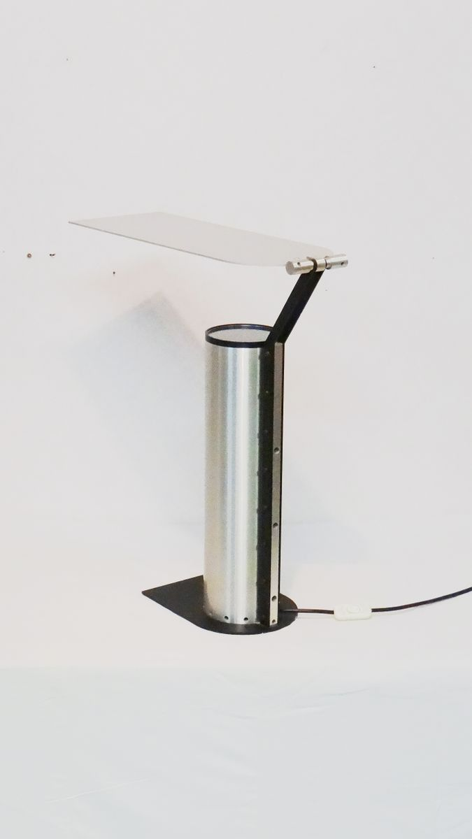 design stainless steel table lamp for sale at pamono. Black Bedroom Furniture Sets. Home Design Ideas